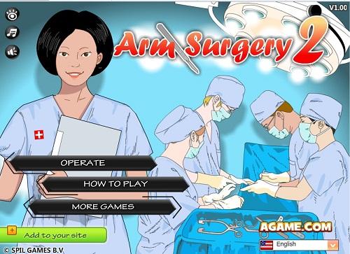 دانلود بازی فلش آنلاین دکتری-جراحی دست 2
