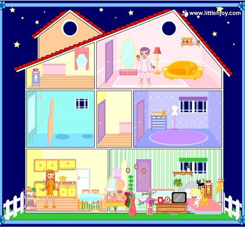 دانلود بازی دخترانه طراحی خانه بسیار کم حجم-بازی آنلاین