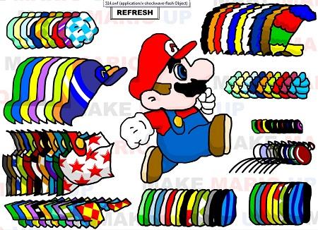 دانلود بازی فلش آنلاین طراحی بچه گانه لباس ماریو- mario dress up