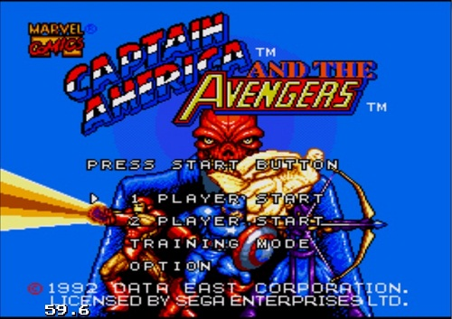 دانلود بازی کاپیتان آمریکا سگا برای کامپوتر