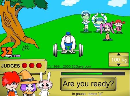 دانلود بازی فلش آنلاین کارتونی باموس زورآزمایی
