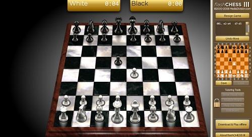 دانلود بازی انلاین شطرنج فلش کم حجم