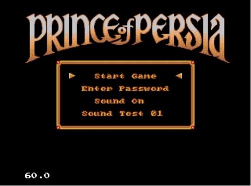 دانلود بازی پرنس ایرانی قدیمی سگا sega-Prince-of-Persia-برای کامپیوتر