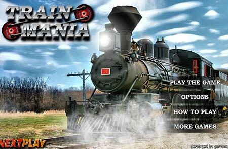 دانلود،بازی کارتوني رانندگي قطار آنلاین Train Mania