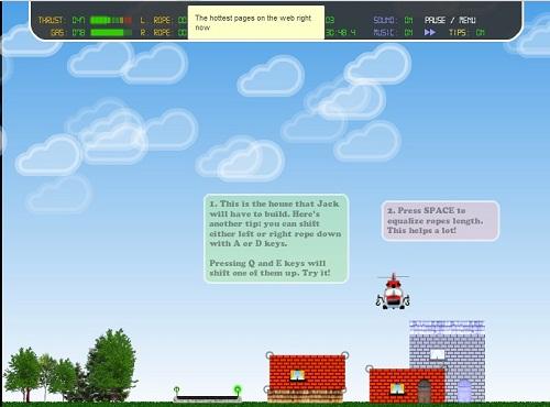 دانلود بازی فلش اینترنتی رایگان حمل و نقل با راندن هلیکوپتر-جدا سخت