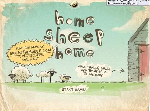 دانلود بازی فلش اینترنتی رایگان گوسفندهای زبل-فکری ساده و جالب