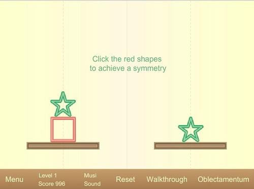 دانلود بازی فلش اینترنتی رایگان مرحله ای فکری-توازن وزن-یکسان کردن دو شکل