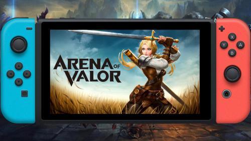 زنات انتشار نینتندو سوییچ بازی  Arena of Valor