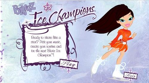 دانلود بازی فلش ورزشی دخترانه قشنگ اینترنتی رایگان-اسکی روی یخ و رقص باله