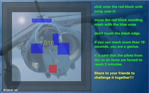 دانلود بازی فلش اینترنتی 50 ثانیه برای خلبانها بسیار سخت کنترل موس و کم حجم