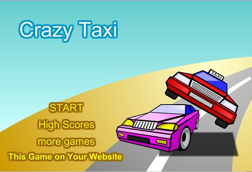 دانلود بازی فلش اینترنتی رایگان تاکسی دیوانه crazy taxi-کوتاه و کم حجم