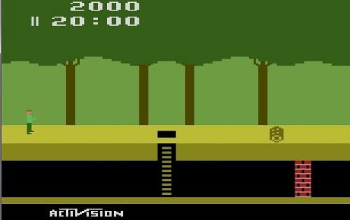 دانلود بازی راه و چاه آتاری Pitfall برای کامپوتر و حجم کم