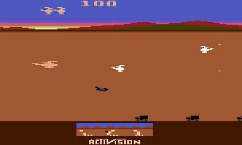 دانلود بازی هلی کوپتر آتاری Chopper Command برای کامپوتر و حجم کم