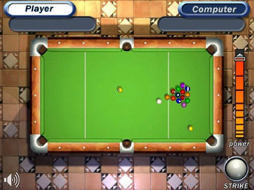 دانلود بازی فلش اینترنتی رایگان بیلیارد ایت بال 8 ball-کم حجم