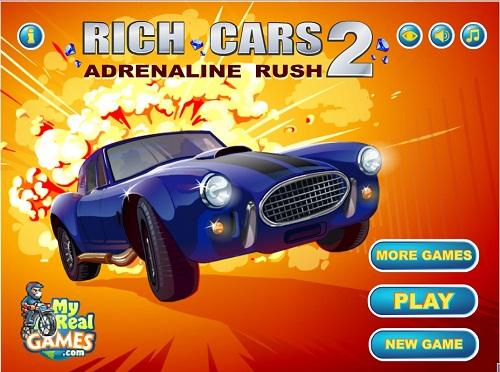 دانلود بازی فلش اینترنتی رایگان ماشین پولدار ها-rich cars