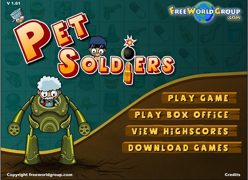 دانلود بازی فلش اینترنتی رایگان حفاظت از سرباز خونه-سخت و دشوار