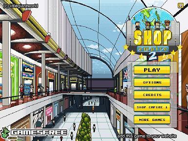 بازی فلش آنلاین مديريت امپراتوري فروشگاه ها همراه دانلود shop empire 2
