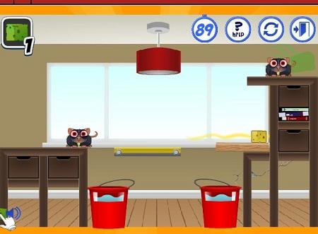 بازی آنلاین فلش فکری و سرگرم کننده موش گیری-verminator