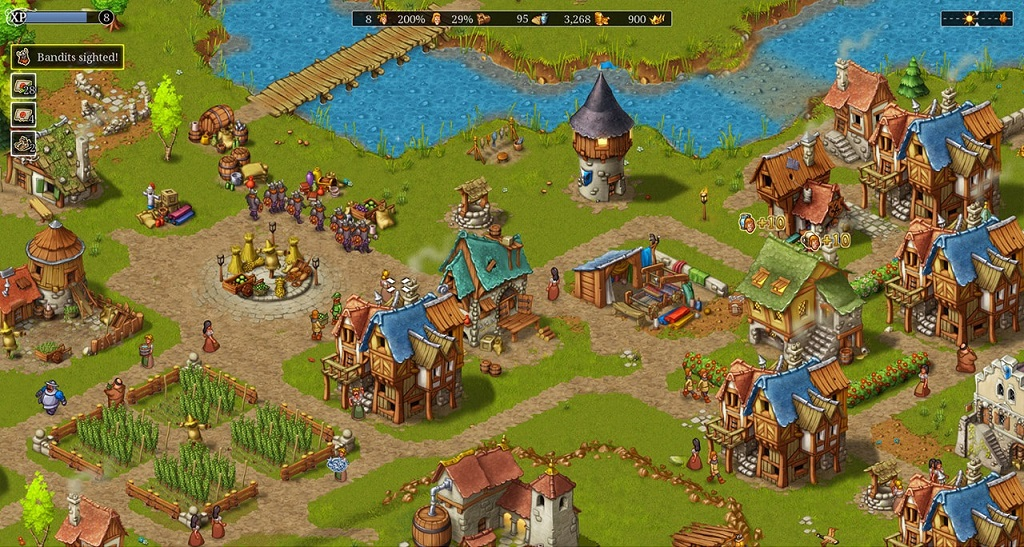 بررسی و امتیازات بازی Townsmen – A Kingdom Rebuilt