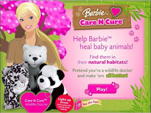دانلود بازی دخترانه باربی و مراقبت و نگه داری از حیوانات برای کامپیوتر و رایگان
