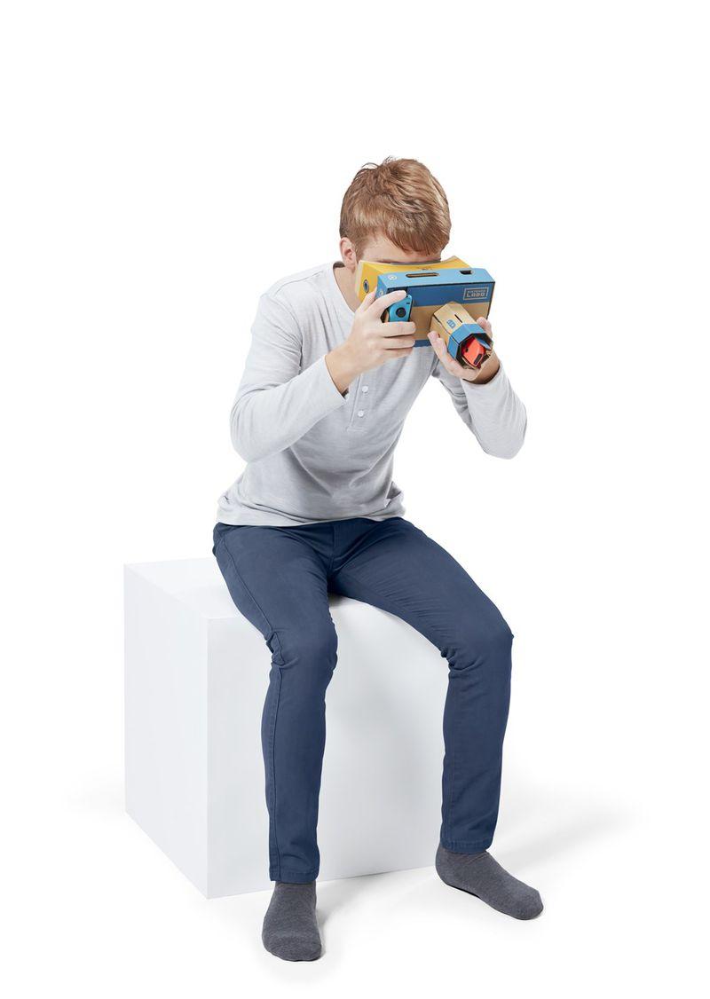 هدستهای واقعیت مجازی برای Nintendo Switch