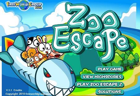 بازی آنلاین فکري و جذاب فرار از باغ وحش -Zoo Escape