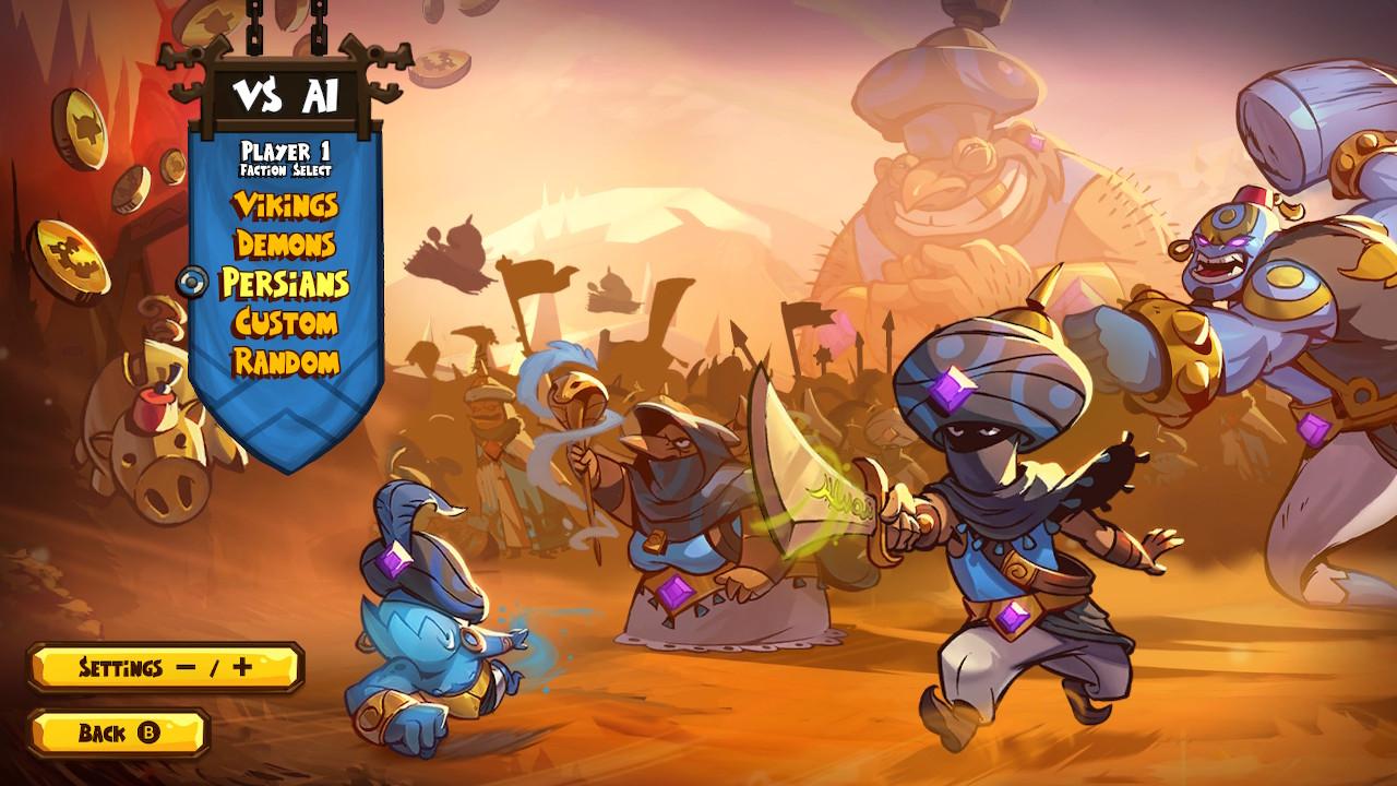 بررسی و امتیازات بازی Swords & Soldiers 2