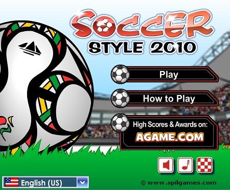 دانلود بازی فوتبال 2012 آنلاین روپایی زدن و کنترل توپSoccer Style 2012