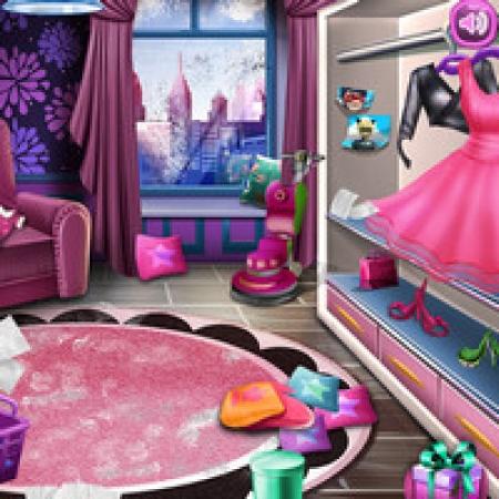 دانلود  بازی دخترانه تمیز کردن خانه