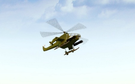 بازی آنلاین اکشن هلیکوپتر جنگی نظامی