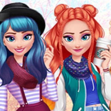 دانلود  بازی دخترانه السا لباس پوشیدن