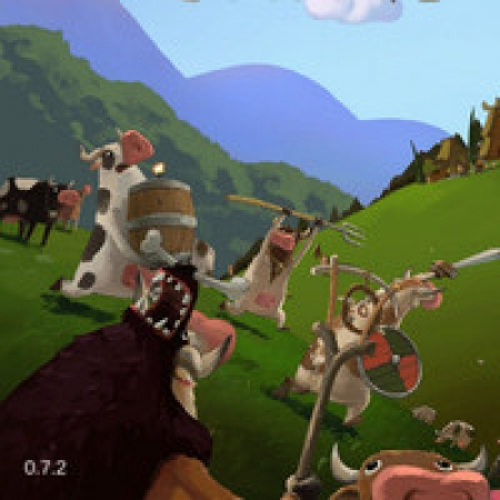 دانلود  بازی دفاع از قلعه گاوها در مقابل وایکینگ ها