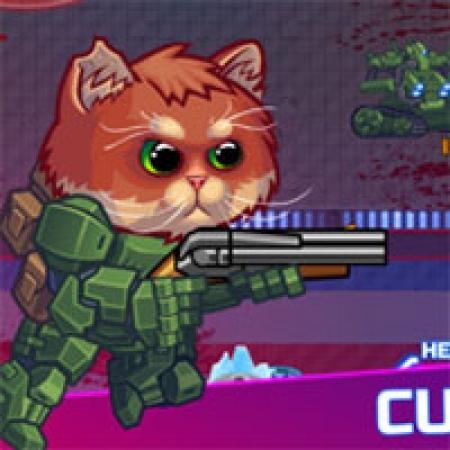 دانلود  بازی تیراندازی آنلاین گربه زرهی