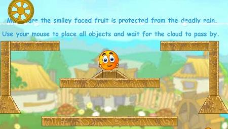 بازی آنلاین فکری و جذاب نجات پرتقال ها