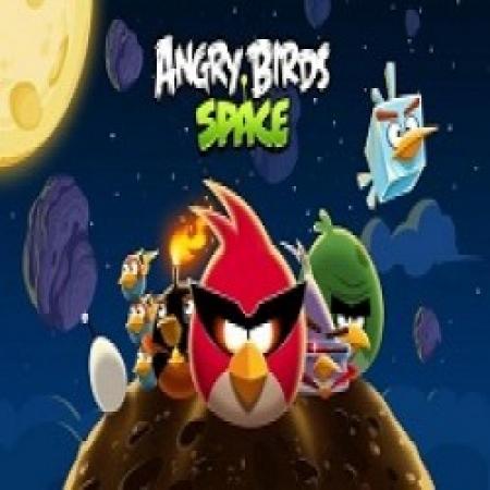 دانلود  بازی پرندگان خشمگین در فضا