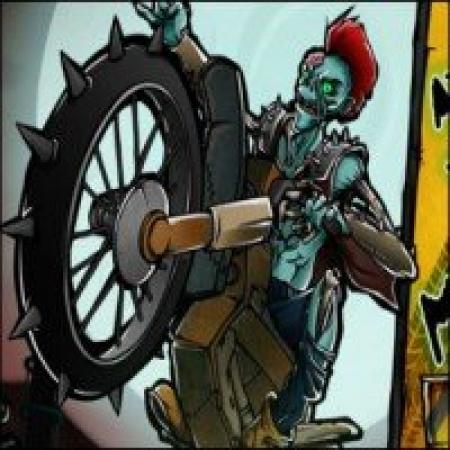 دانلود  موتورسواری زامبی