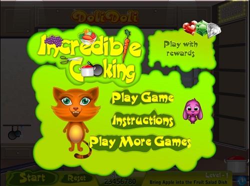 دانلود بازی فلش اینترنتی رایگان فکری درست کردن سالاد میوه-ساده