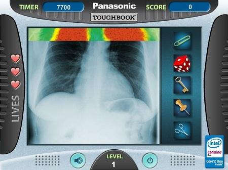 بازی آنلاین دکتری - سیتی اسکن بدن بیمار