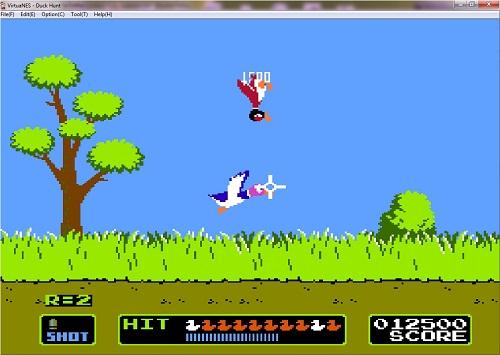 دانلود بازی میکرو هدفگیری مرغابی Duck-Hunt