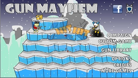 دانلود بازی فلش تفنگی Gun-Mayhem