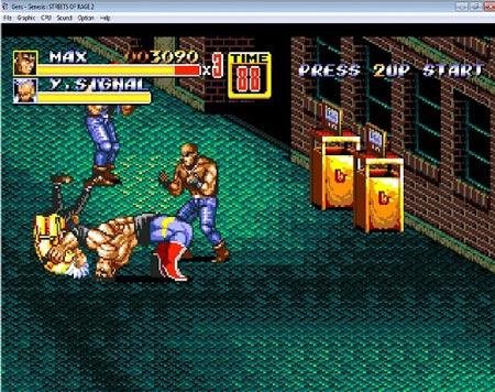 دانلود بازی سگا شورش در شهر دو-2 Streets of Rage-sega