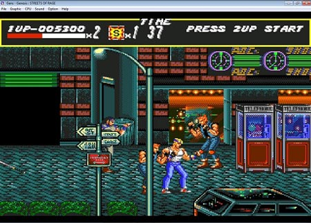 دانلود بازی سگا شورش در شهر یک-1 Streets of Rage-sega