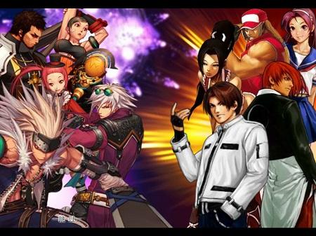 بازی فلش آنلاین اکشن The_King_of_Fighters