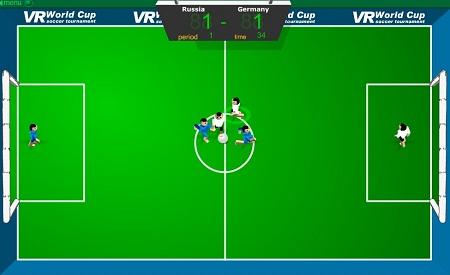 بازی فلش آنلاین فوتبال رباتها