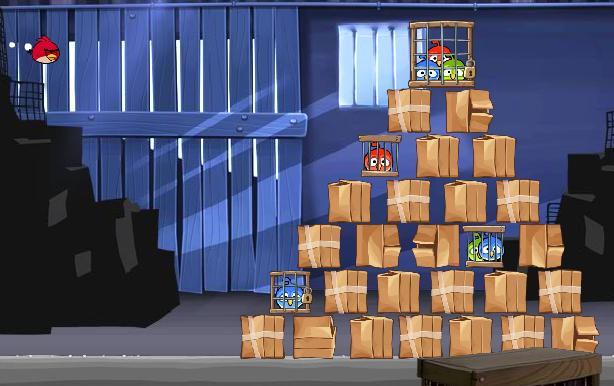 بازی فلش آنلاین پرندگان خشمگين-Angry Birds Rio