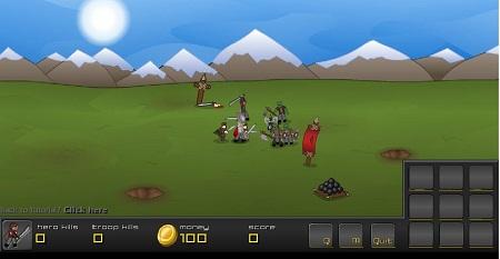 بازی فلش آنلاین جنگی و استراتژیک گاندور