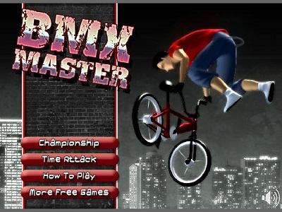 بازی فلش آنلاین دوچرخه سواری bmx