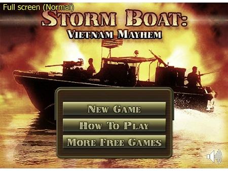 بازی فلش آنلاین قایق موتوری جنگی