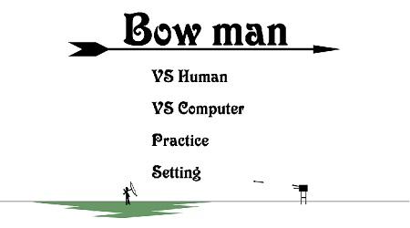 دانلود بازی فلش انلاین bowman