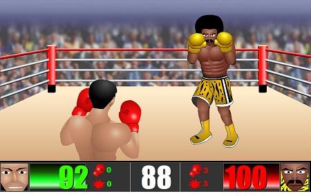 بازی فلش آنلاین بوکس Knock-out